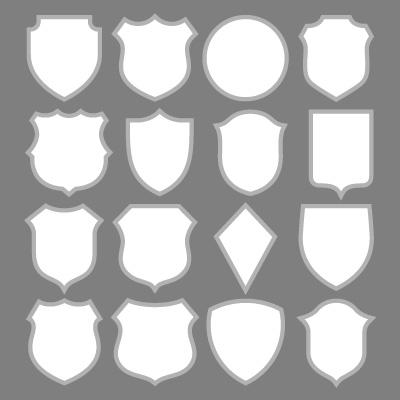 サッカーエンブレム デザインパターン