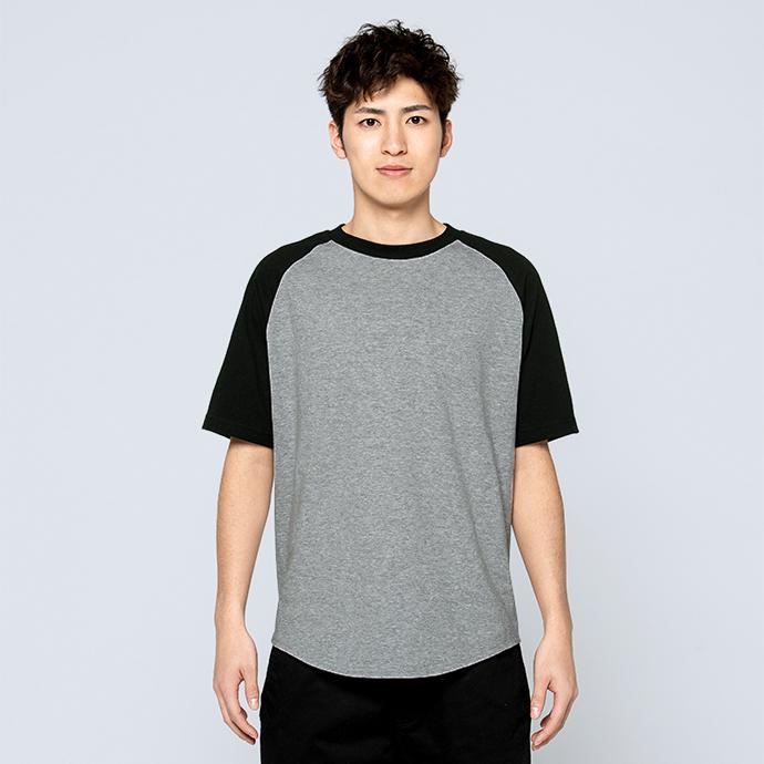 00106-CRT ヘビーウェイト ラグランTシャツ