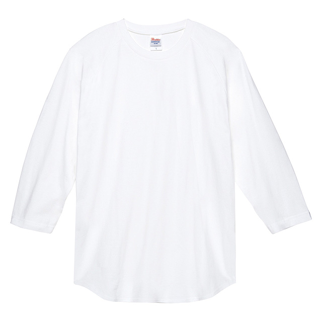 00107-CRB ヘビーウェイト ベースボールTシャツ