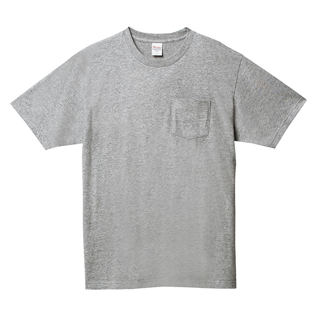 00109-PCT ヘビーウェイト ポケットTシャツ