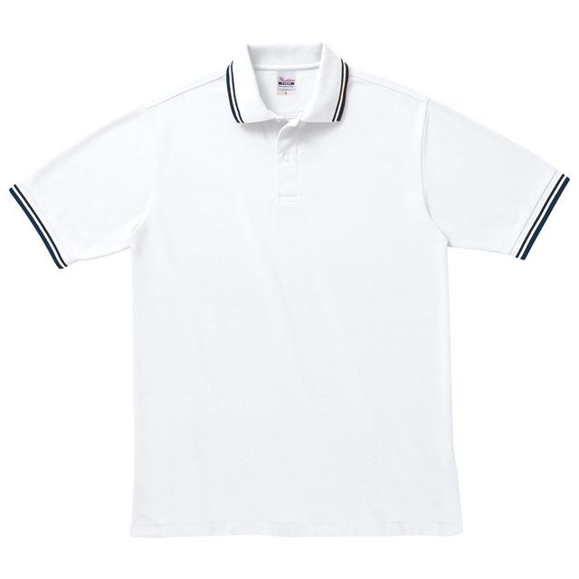 00191-BLP ベーシックラインポロシャツ