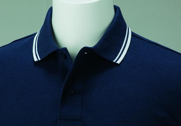 00191-BLP 5.8オンス ベーシックラインポロシャツ