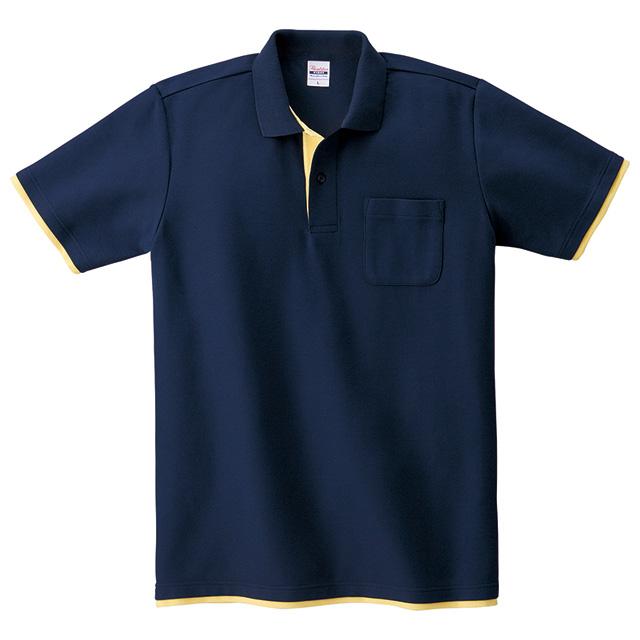 00195-BYP 5.8オンス ベーシックレイヤードポロシャツ