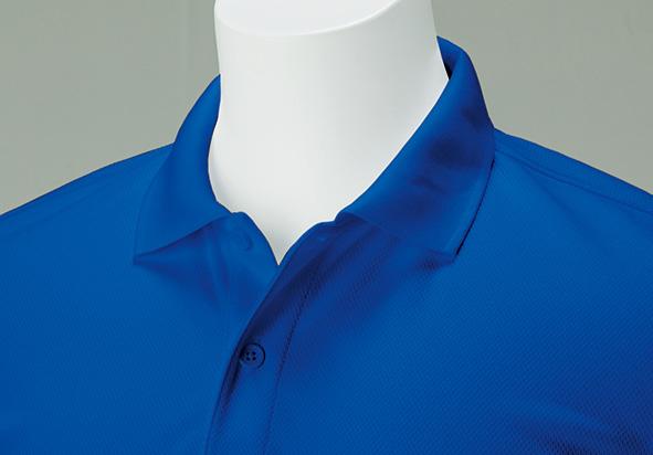 00302-ADP ドライポロシャツ(ポケット無し)
