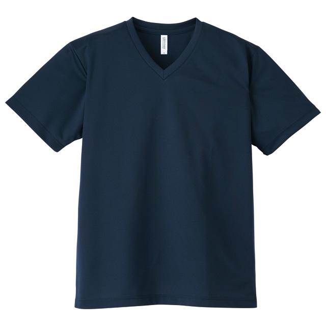 00337-AVT 4.4オンス ドライVネックTシャツ
