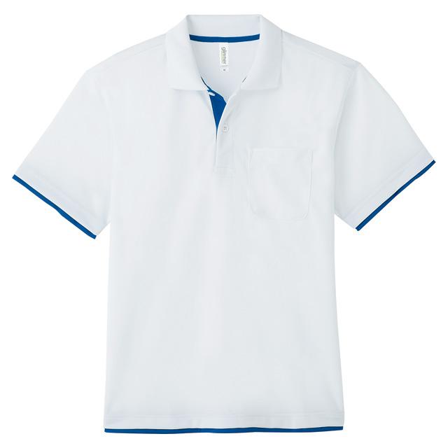 00339-AYP ドライレイヤードポロシャツ