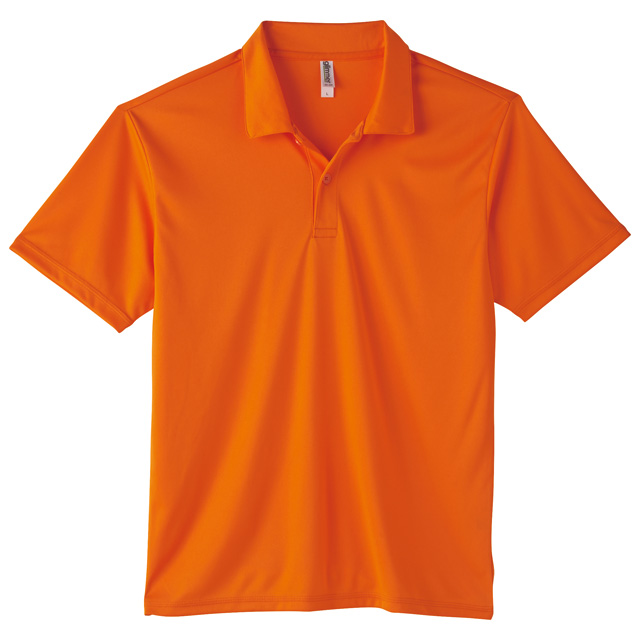00351-AIP インターロックドライポロシャツ