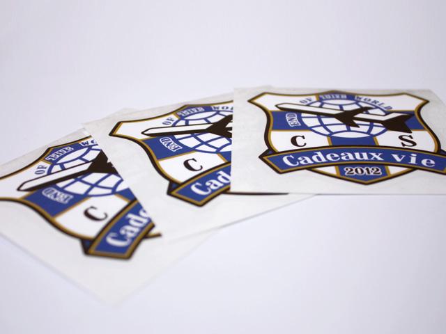 サッカーエンブレム オリジナルデザイン