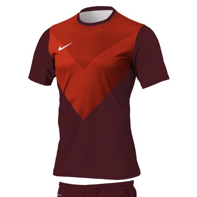 サッカーユニフォーム 819073 ナイキ シェブロン カスタムS/Sゲームトップ ソリッドタイプ