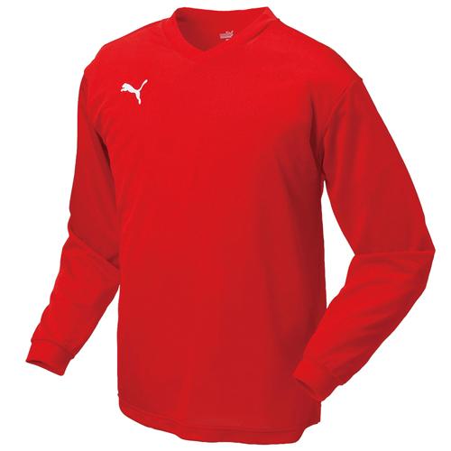 プーマサッカーユニフォーム 903292 903294 ワンポイント長袖ゲームシャツ