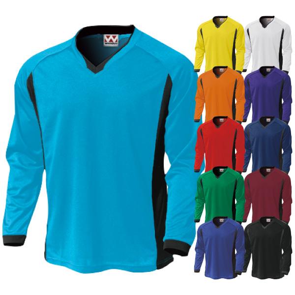 P-1930 ベーシックロングスリーブサッカーシャツ