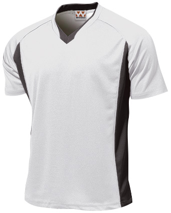 P1910-00 ベーシックサッカーシャツ ホワイト