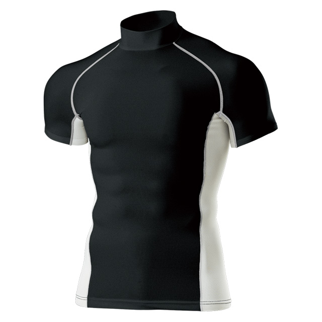 P-7010 ハイネックインナーシャツ 半袖