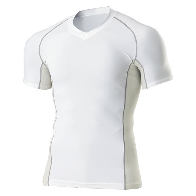 P-7030 Vネックインナーシャツ 半袖
